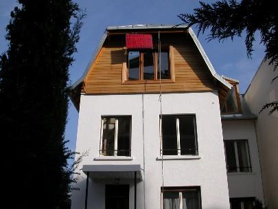 Photo chantier for Cout rehausse maison